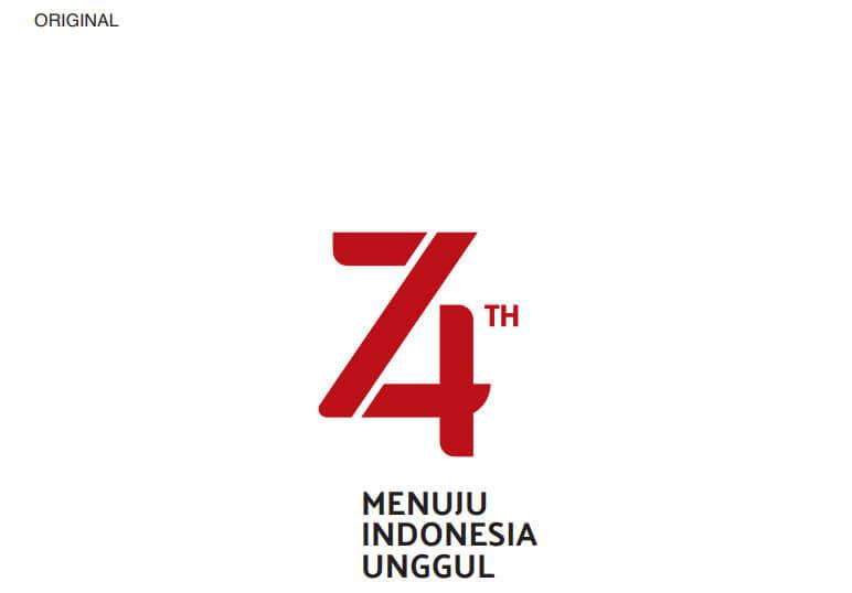 logo hut ri ke 74 original