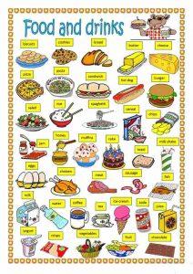 materi bahasa inggris food and drink